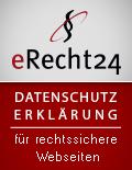 eRecht24-Siegel